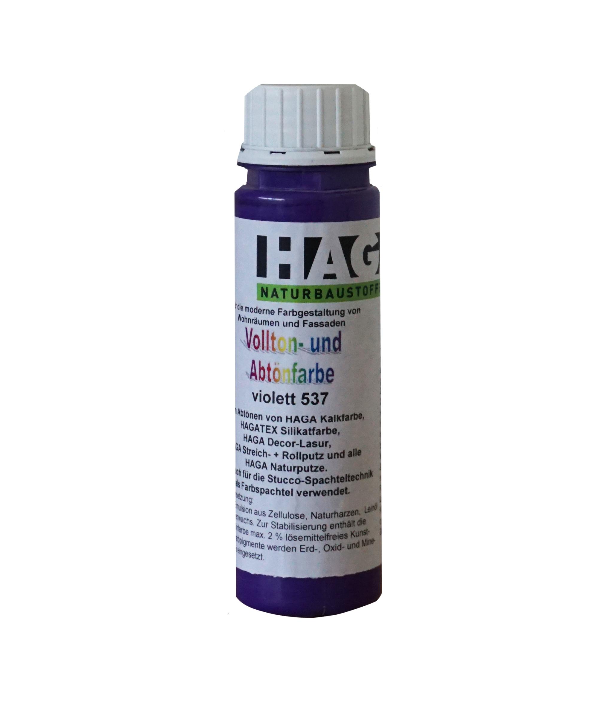HAGA Vollton- & Abtönfarbe · violett 537