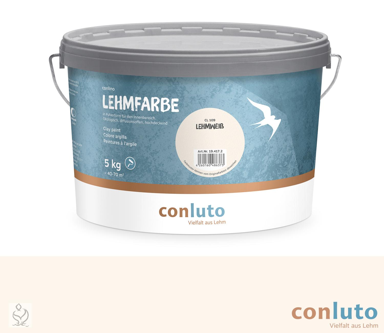 conluto Lehmfarbe Lehmweiß · CL109