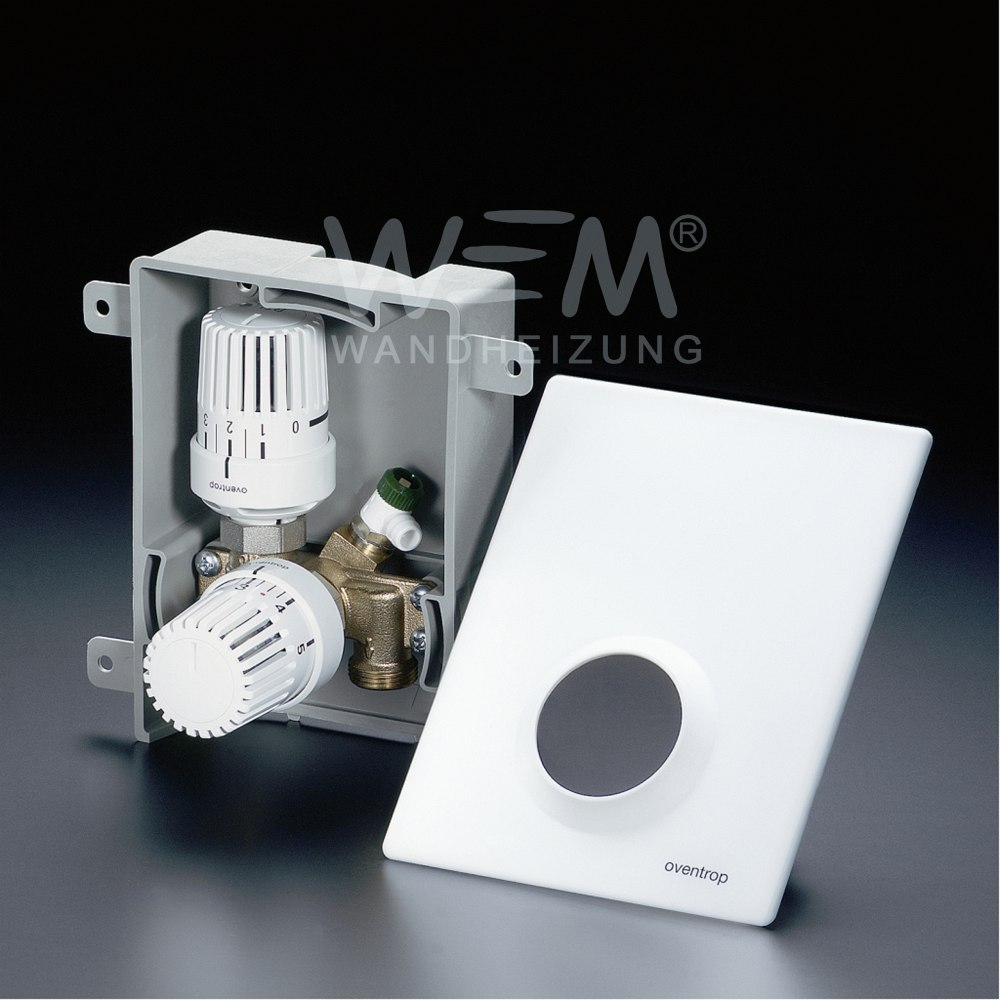 WEM Unibox T-RTL · Thermostatventil + Rücklauftemperaturbegrenzer