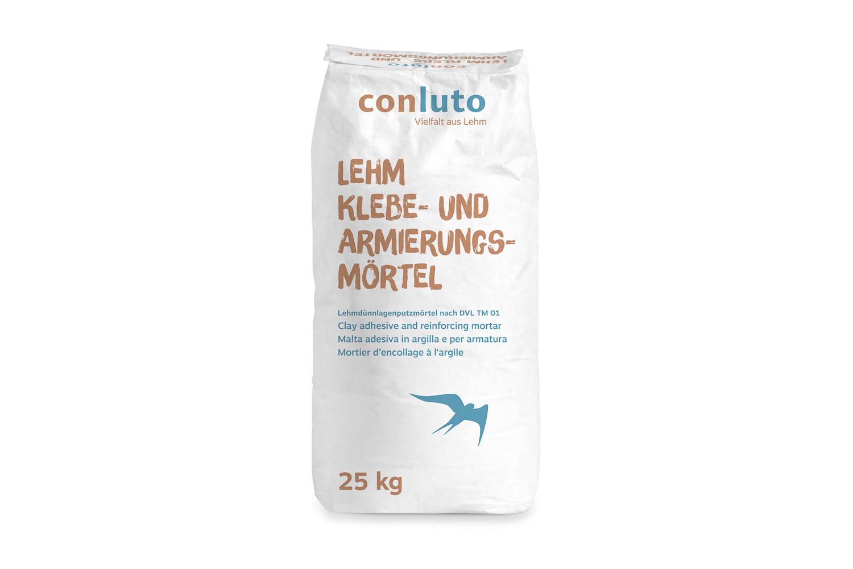 conluto Lehm Klebe- & Armierungsmörtel · 25kg