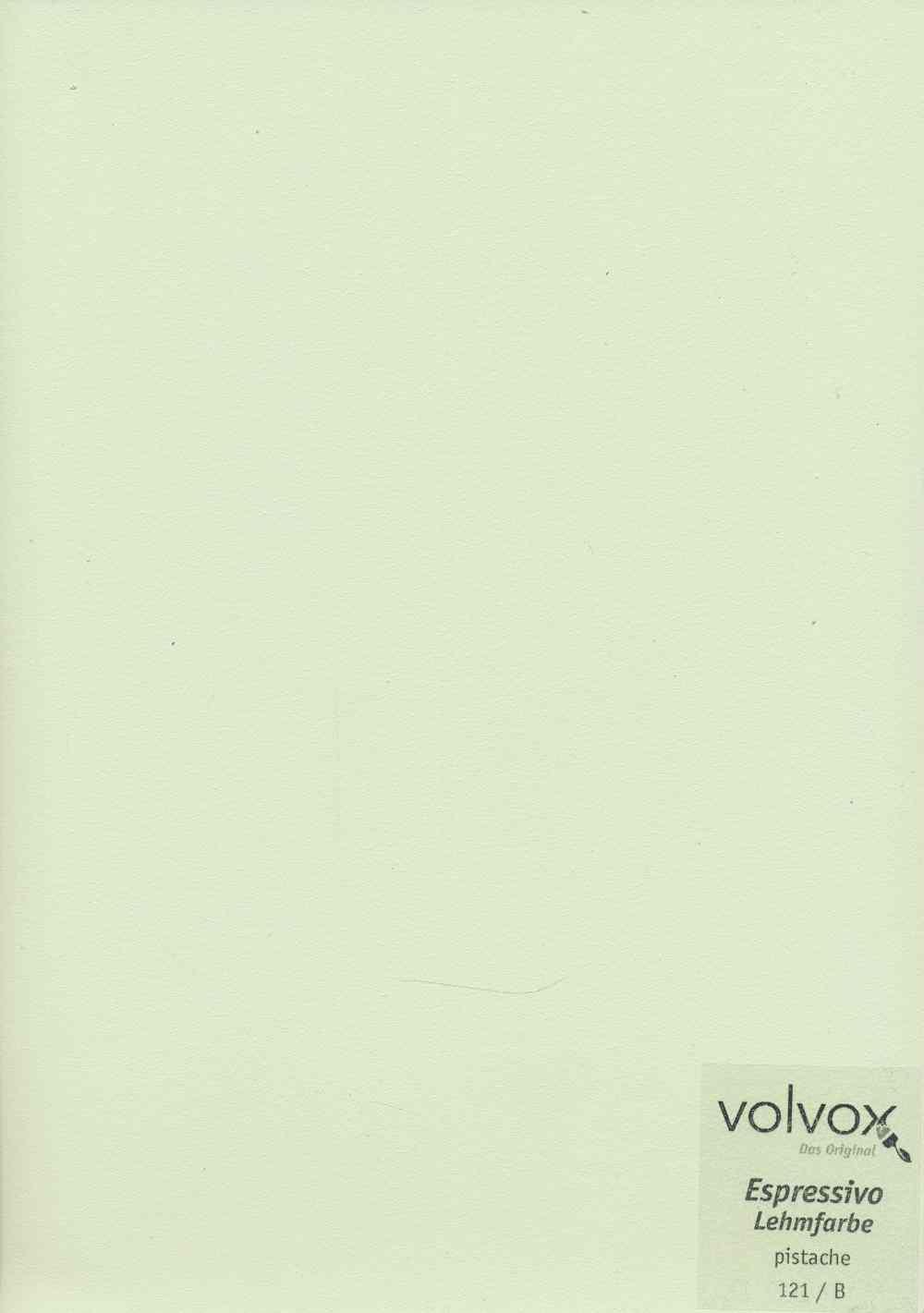 Volvox Espressivo Lehmfarbe 121 pistache