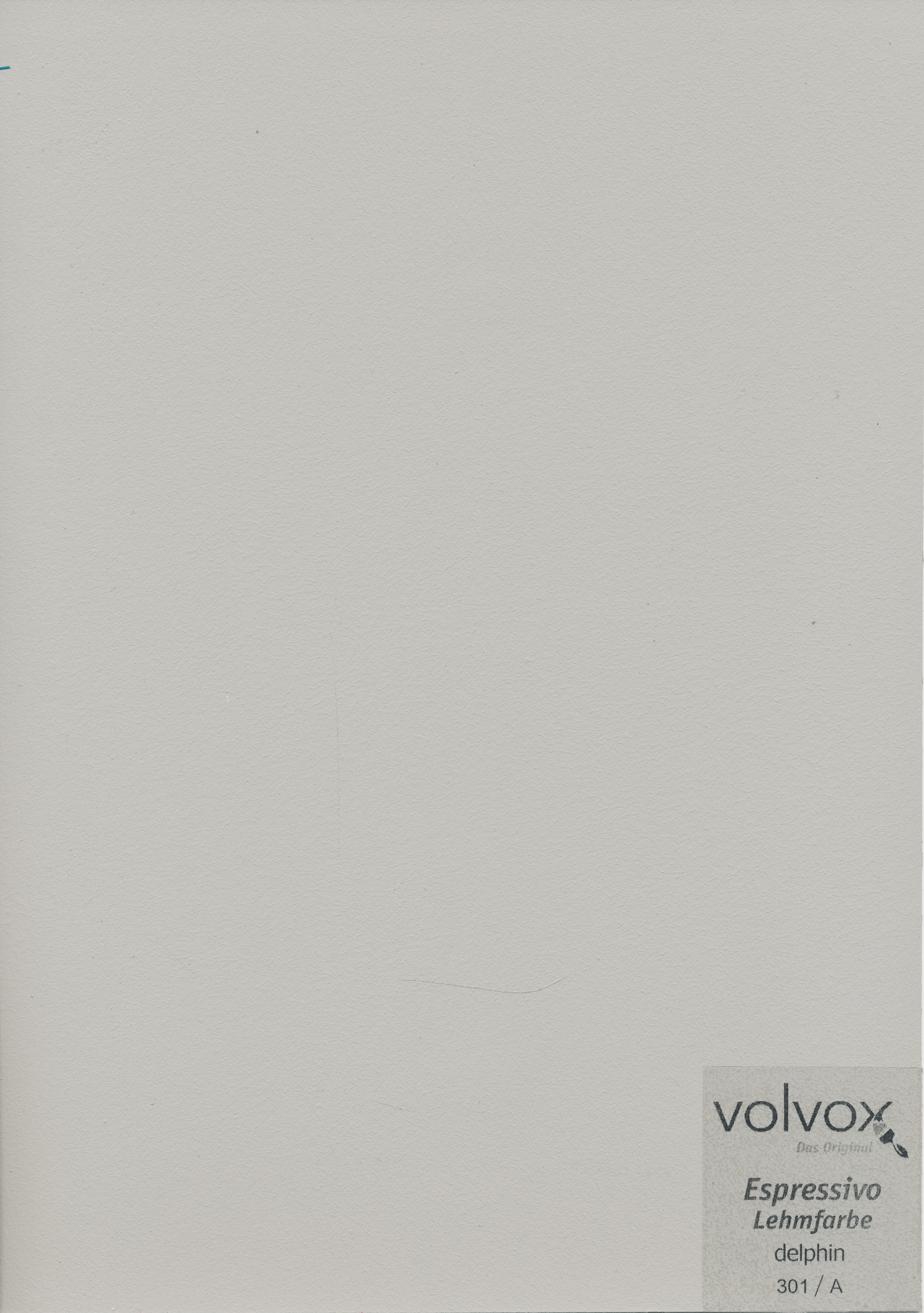 Volvox Espressivo Lehmfarbe 301 delphin