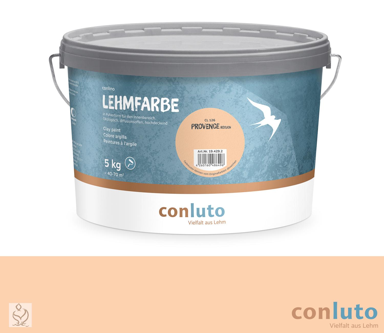 conluto Lehmfarbe Provence rötlich · CL126