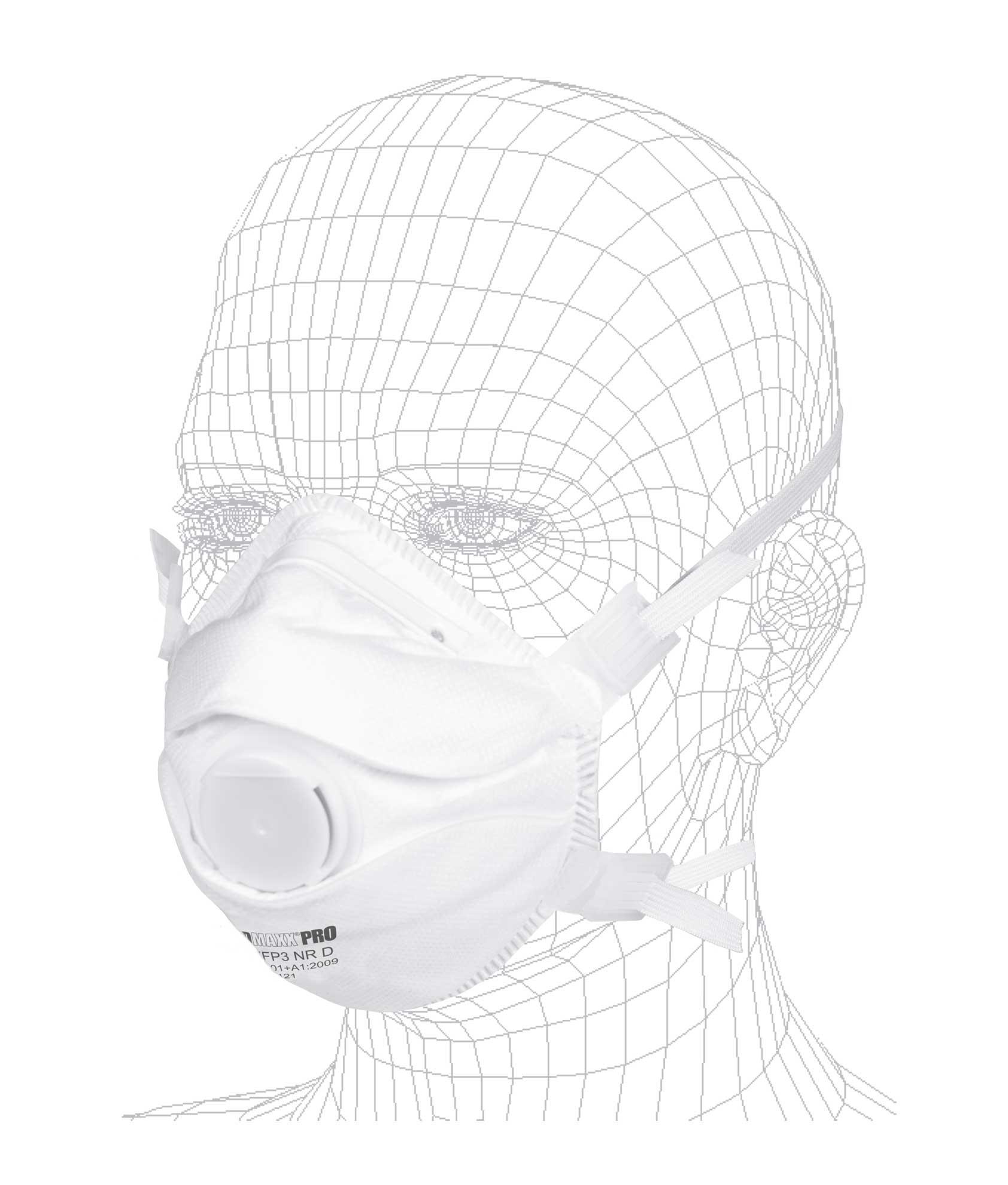 SOlIDMAXX PRO FFP3 Atemschutzmaske