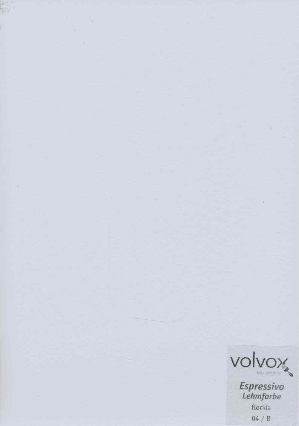 Volvox Espressivo Lehmfarbe 004 florida
