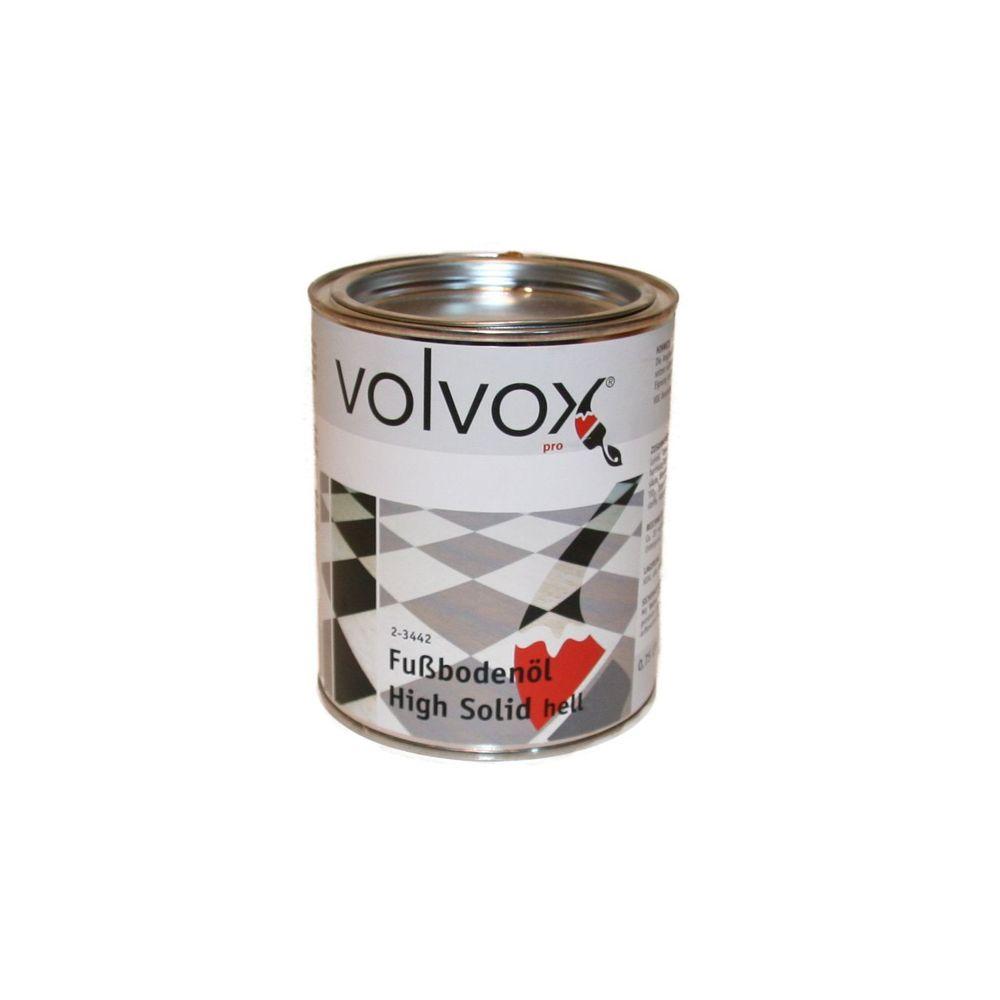 Volvox Fußbodenöl high solid, hell