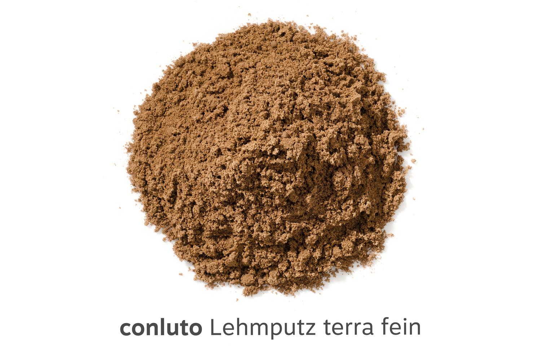 conluto Lehmputz terra fein, erdfeucht