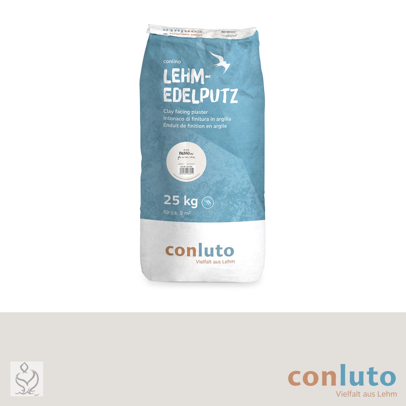 conluto Lehm Edelputz · Bilbao hell · CP111