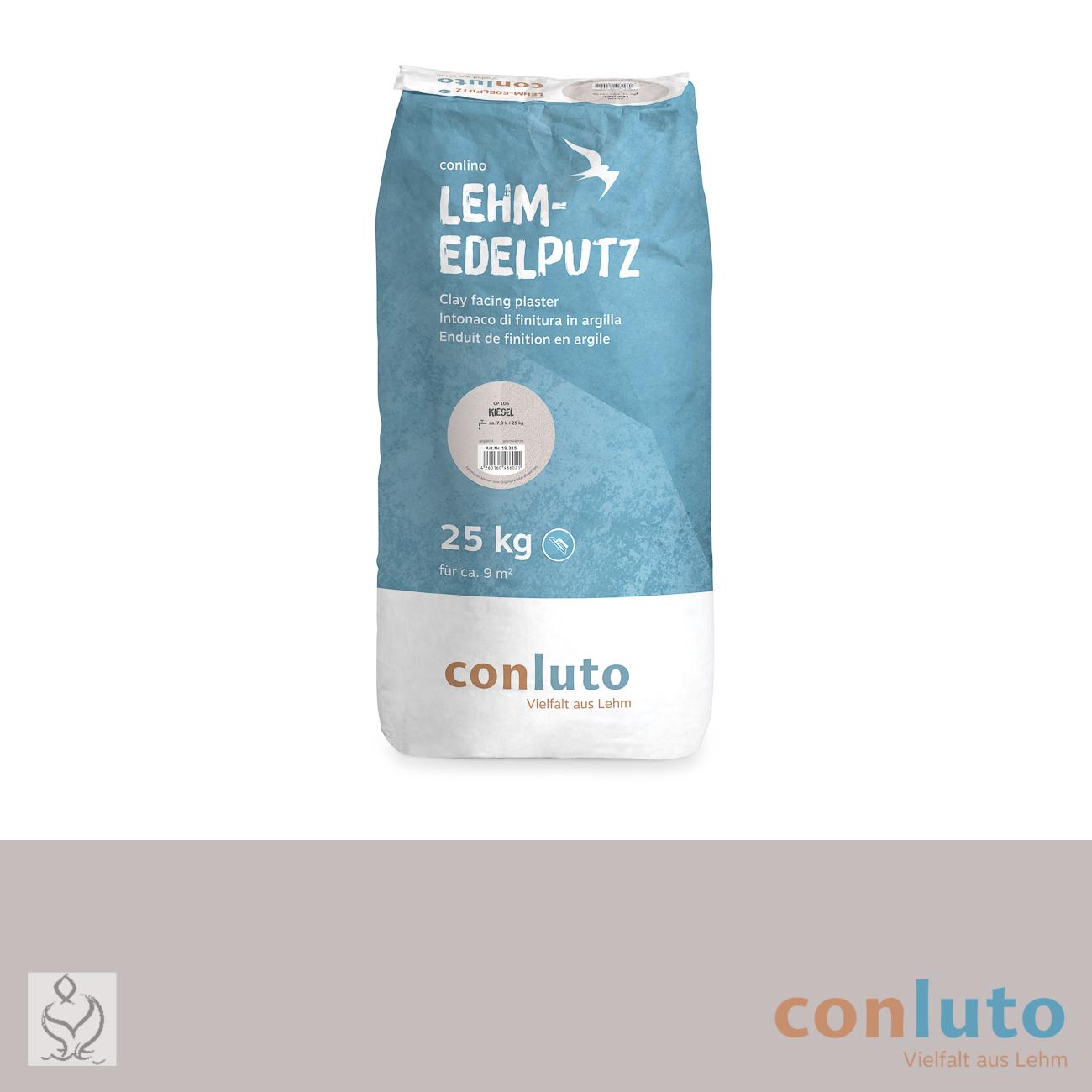 conluto Lehm Edelputz · Kiesel · CP106
