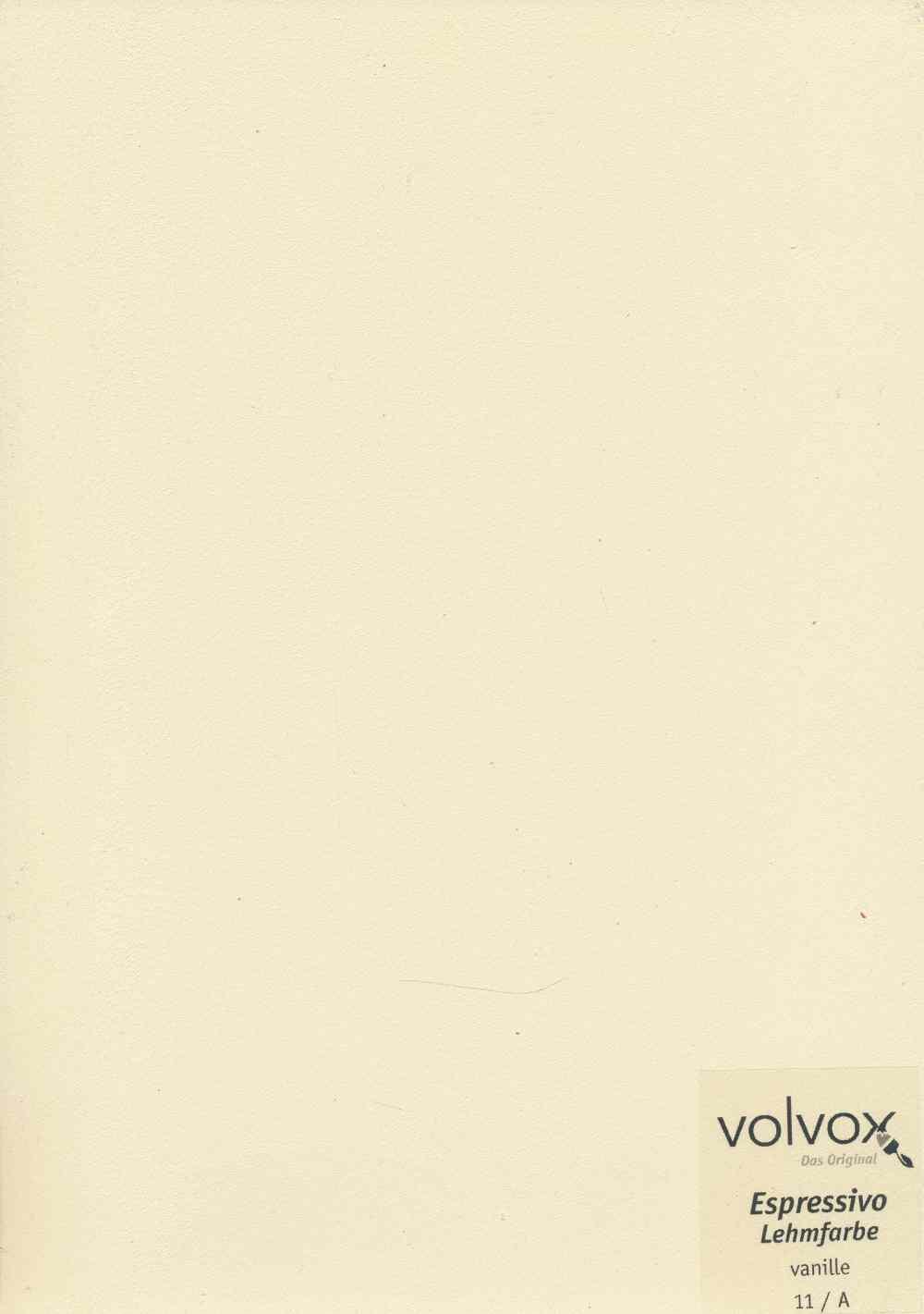 Volvox Espressivo Lehmfarbe 011 vanille
