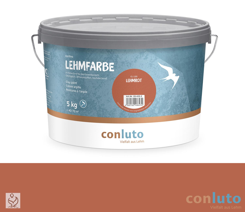 conluto Lehmfarbe Lehmrot · CL120