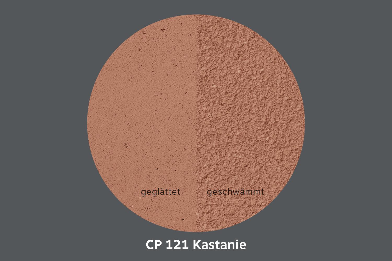 conluto Lehm Edelputz · Kastanie · CP121