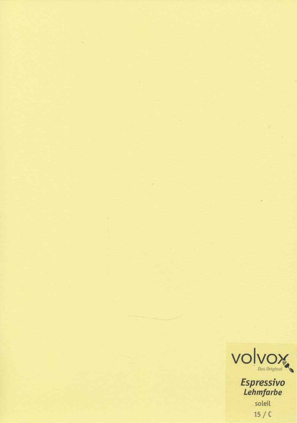 Volvox Espressivo Lehmfarbe 015 soleil