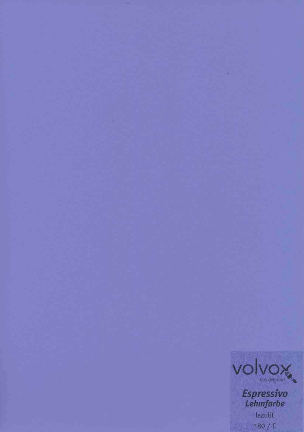 Volvox Espressivo Lehmfarbe 180 lazulit