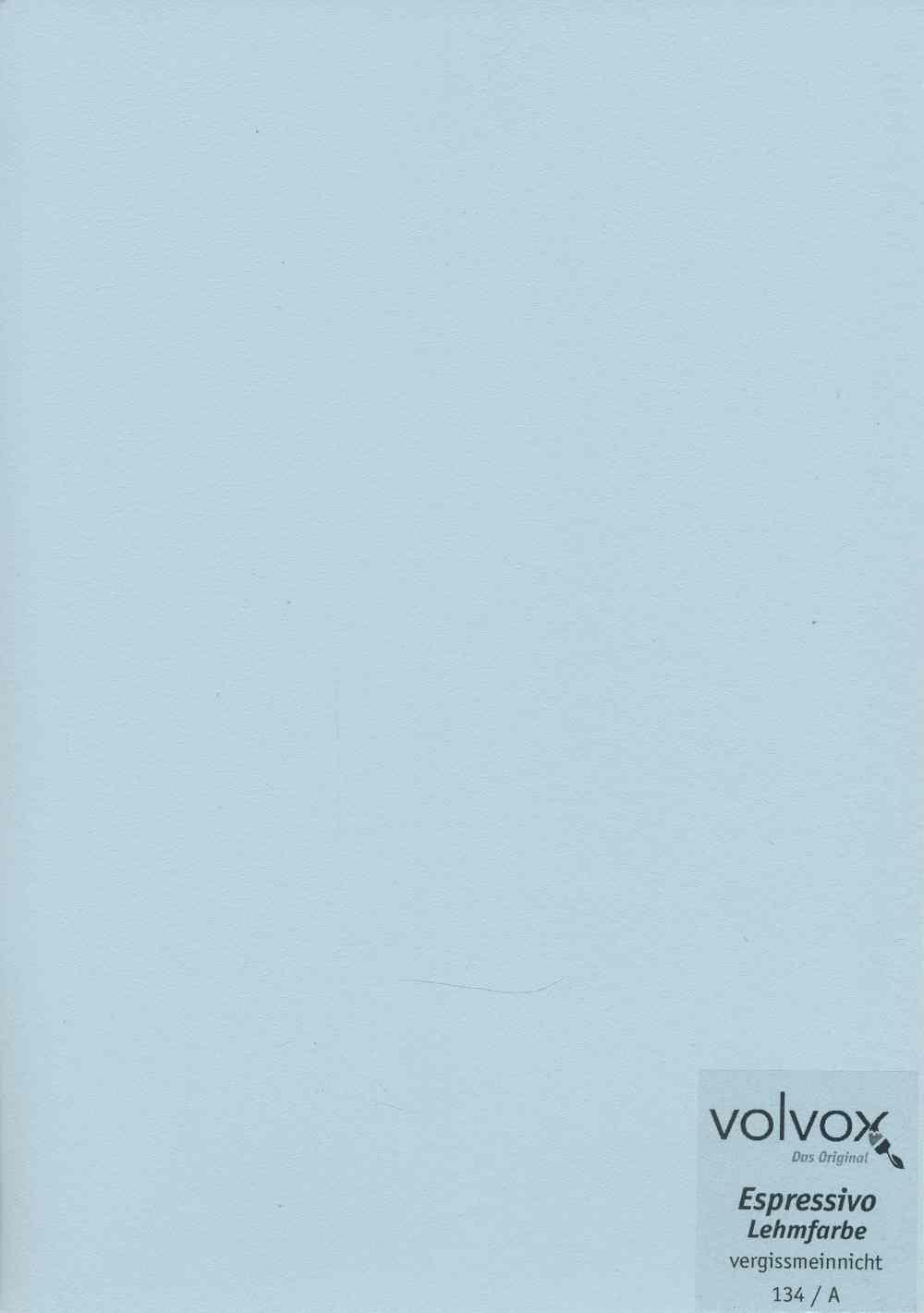Volvox Espressivo Lehmfarbe 134 vergissmeinnicht