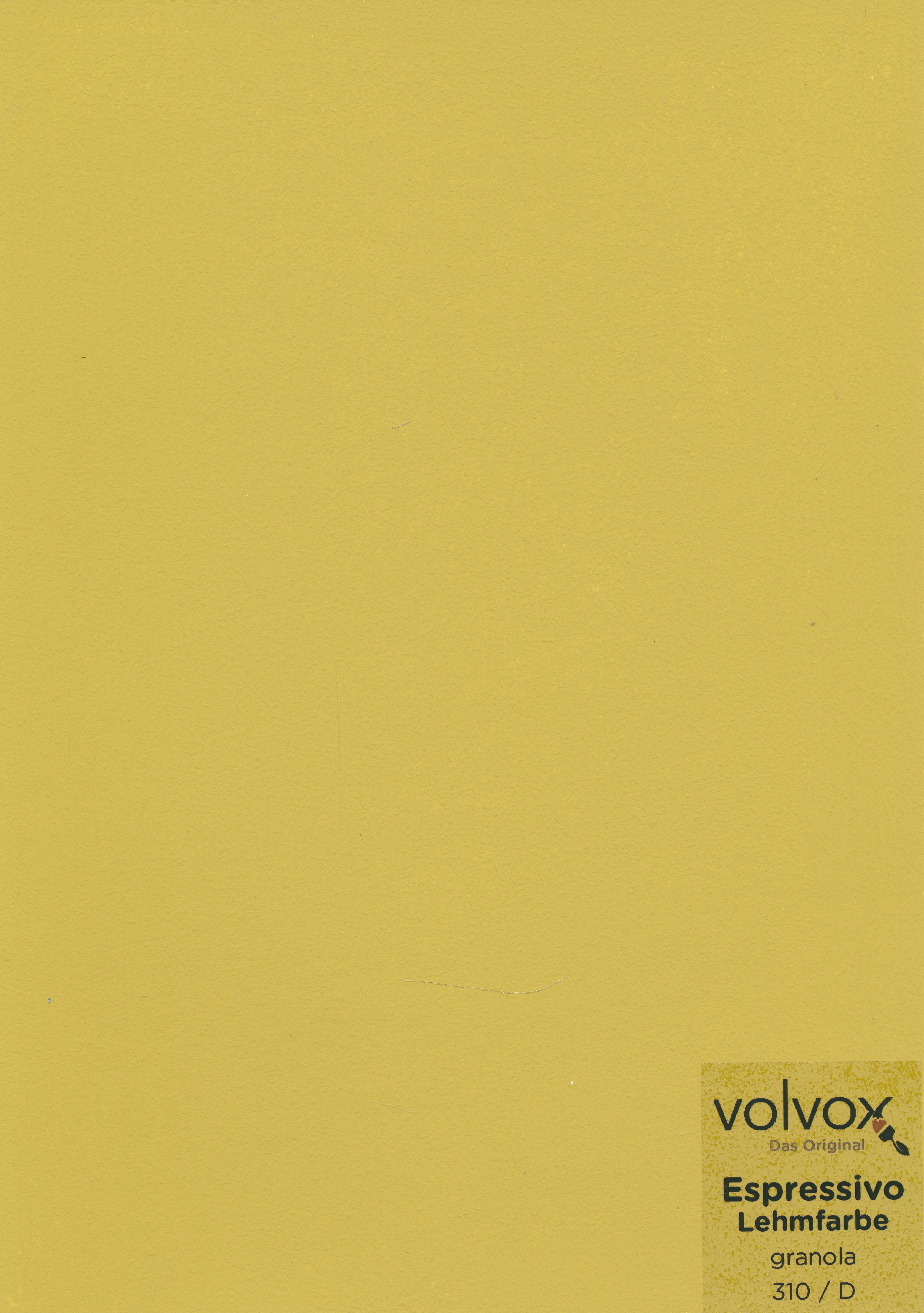 Volvox Espressivo Lehmfarbe 310 granola