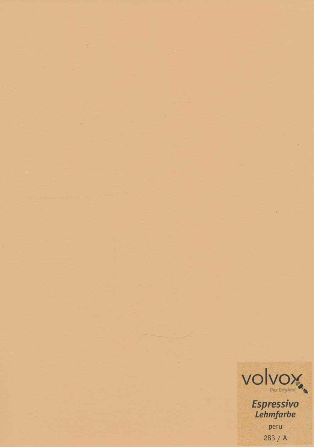 Volvox Espressivo Lehmfarbe 283 peru