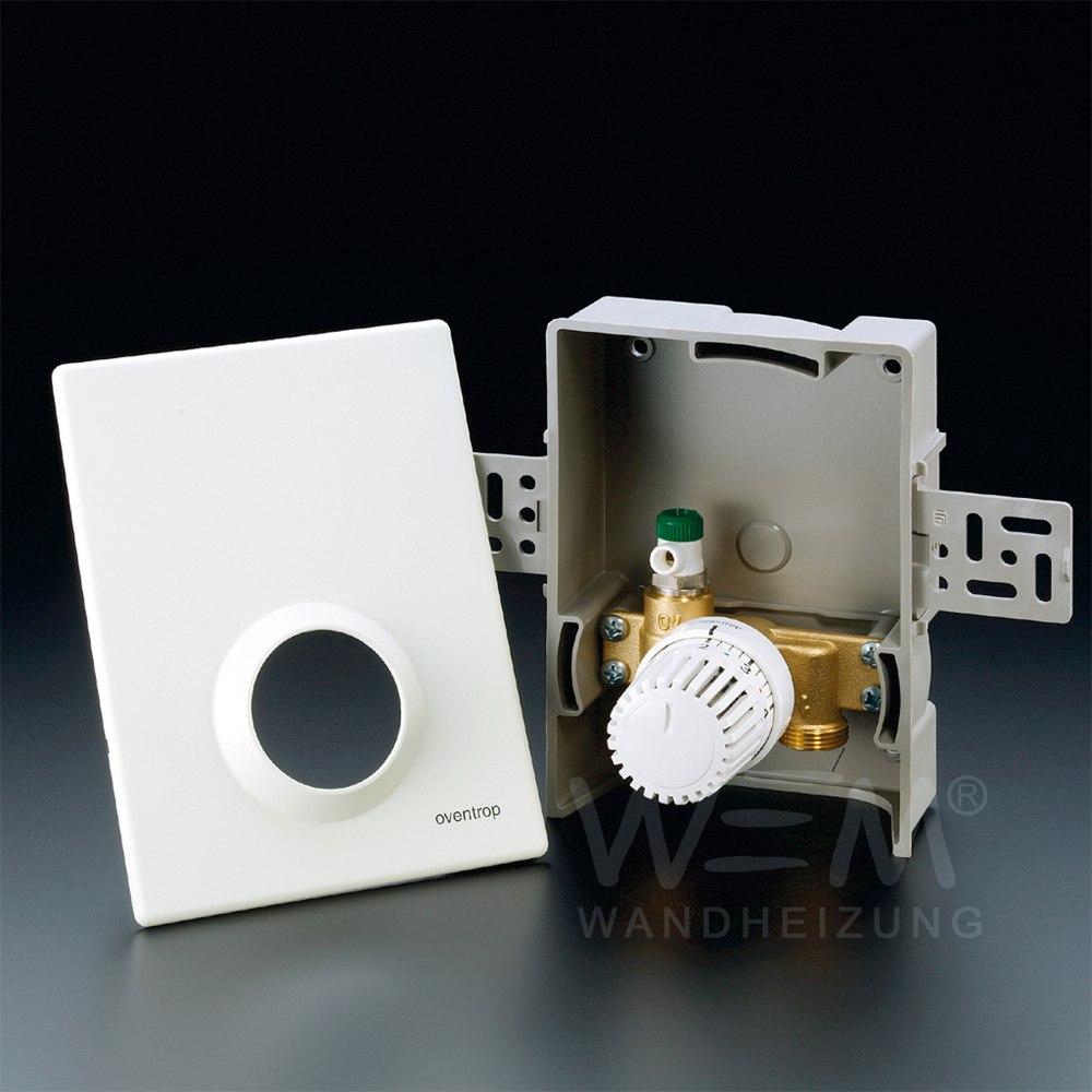 WEM Unibox T · Thermostatventil im UP Kasten