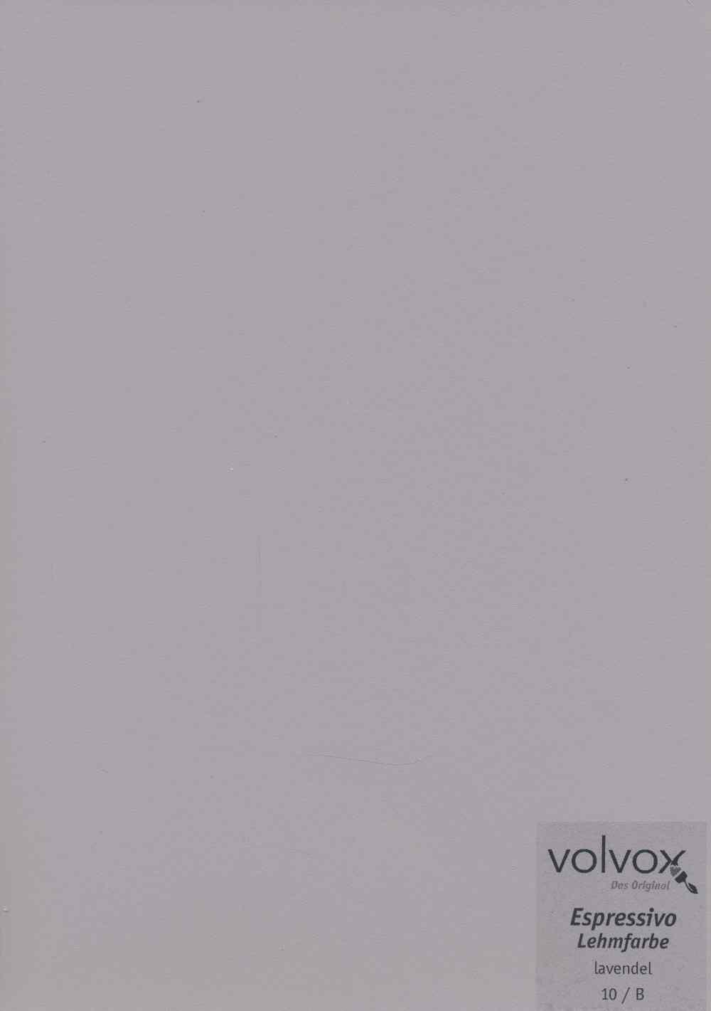 Volvox Espressivo Lehmfarbe 010 lavendel