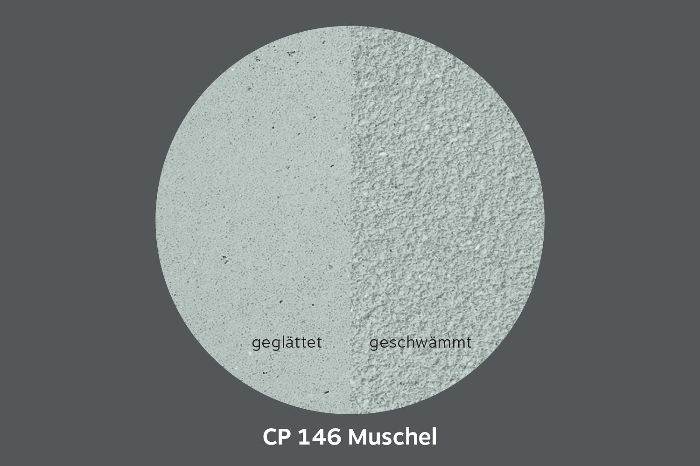 conluto Lehm Edelputz · Muschel · CP146