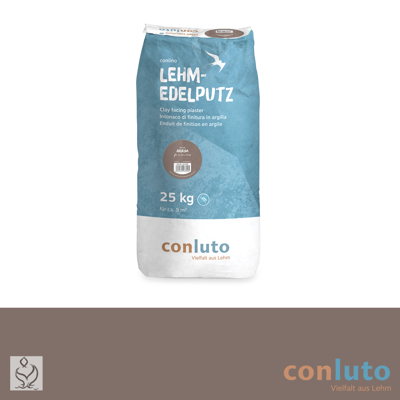 conluto Lehm Edelputz · Ardesia · CP110