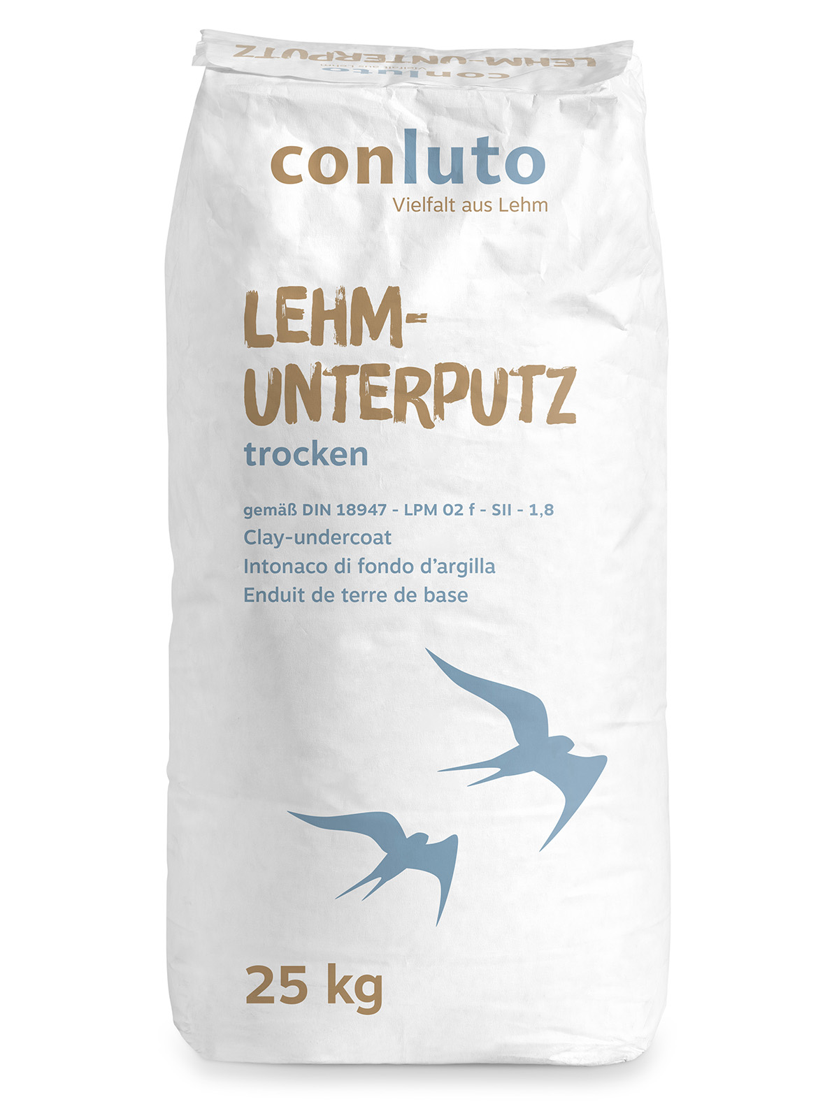 conluto Lehm-Unterputz trocken
