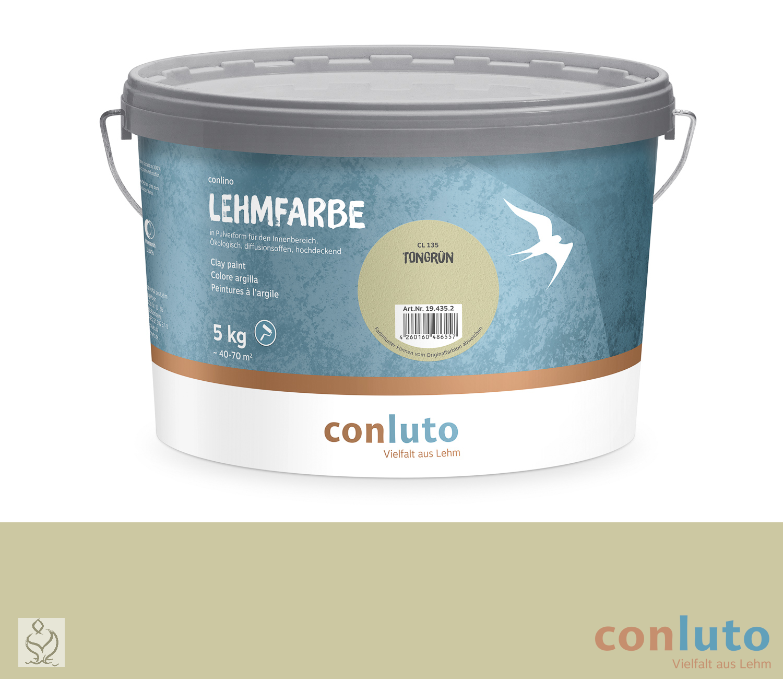 conluto Lehmfarbe Tongrün · CL136