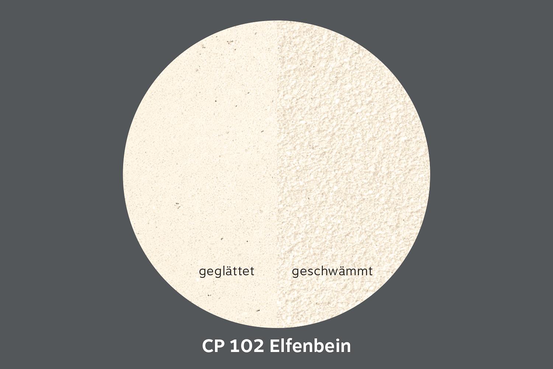 conluto Lehm Edelputz · Elfenbein · CP102