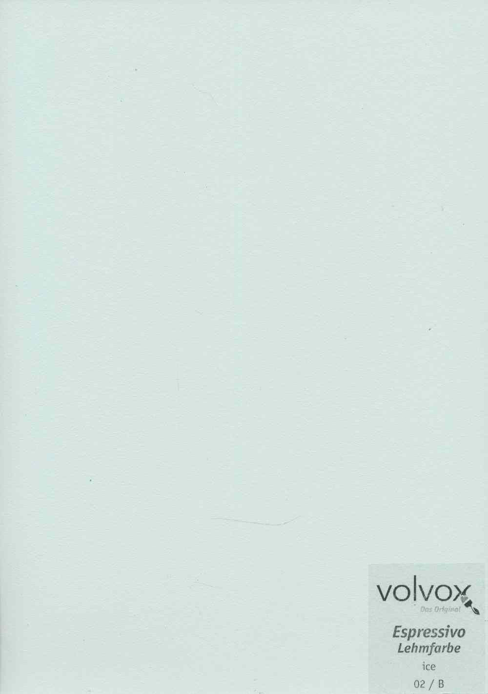 Volvox Espressivo Lehmfarbe 002 ice