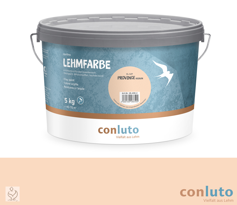 conluto Lehmfarbe Provence gelblich · CL127