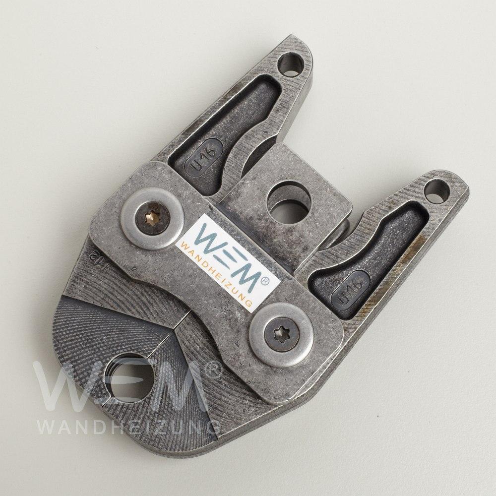 WEM Presszange MV 16mm U-Profil