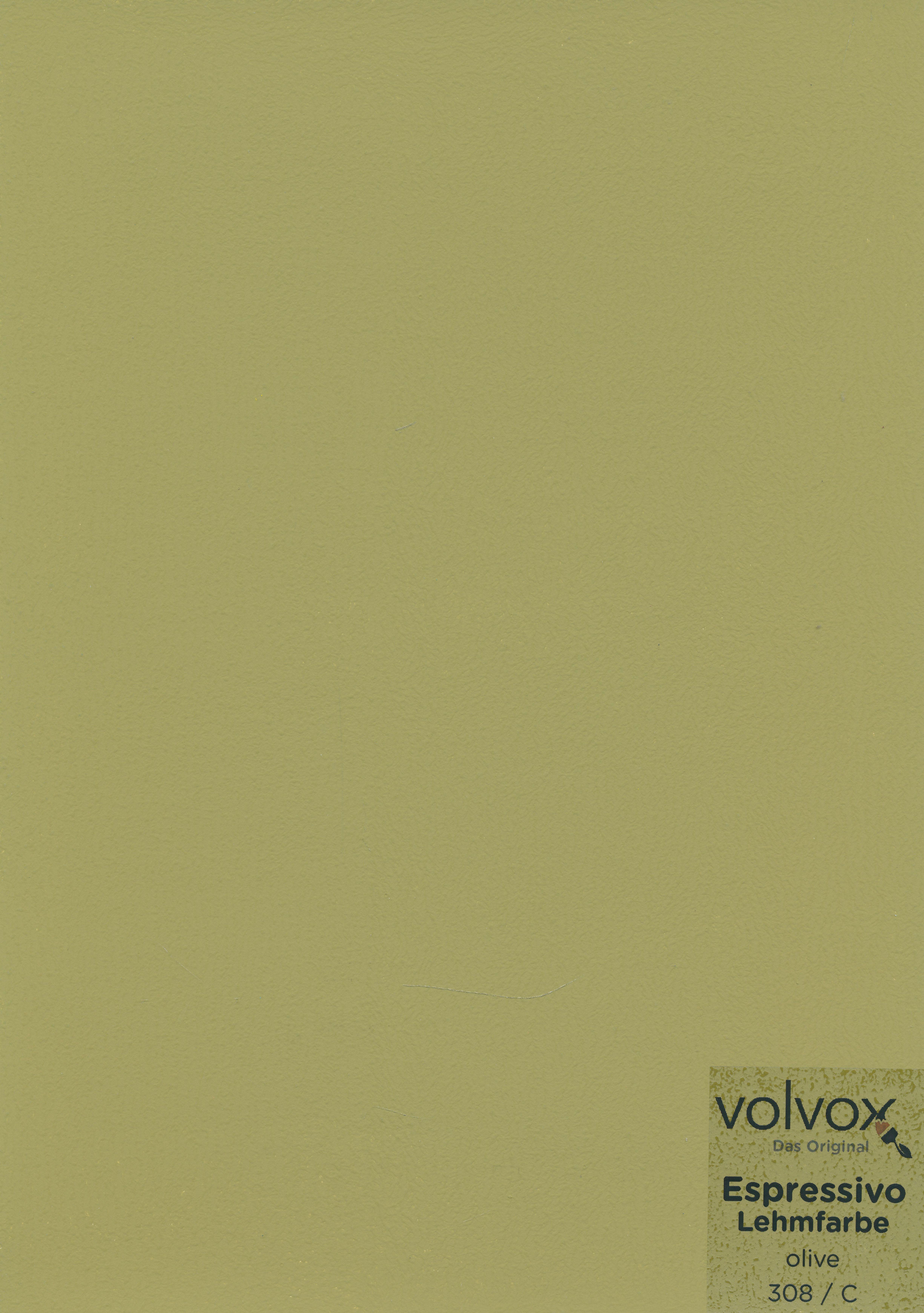 Volvox Espressivo Lehmfarbe 308 olive