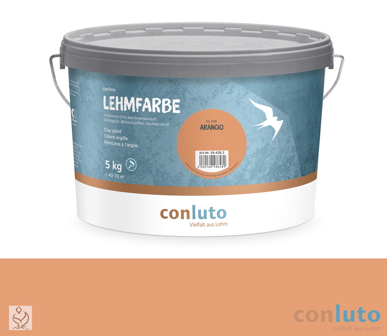 conluto Lehmfarbe Arancio · CL125