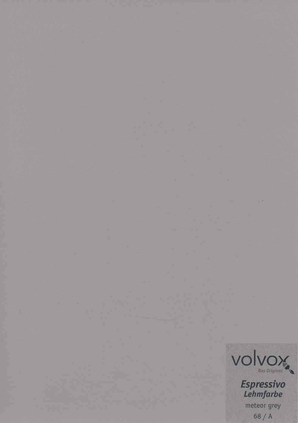 Volvox Espressivo Lehmfarbe 068 meteor grey