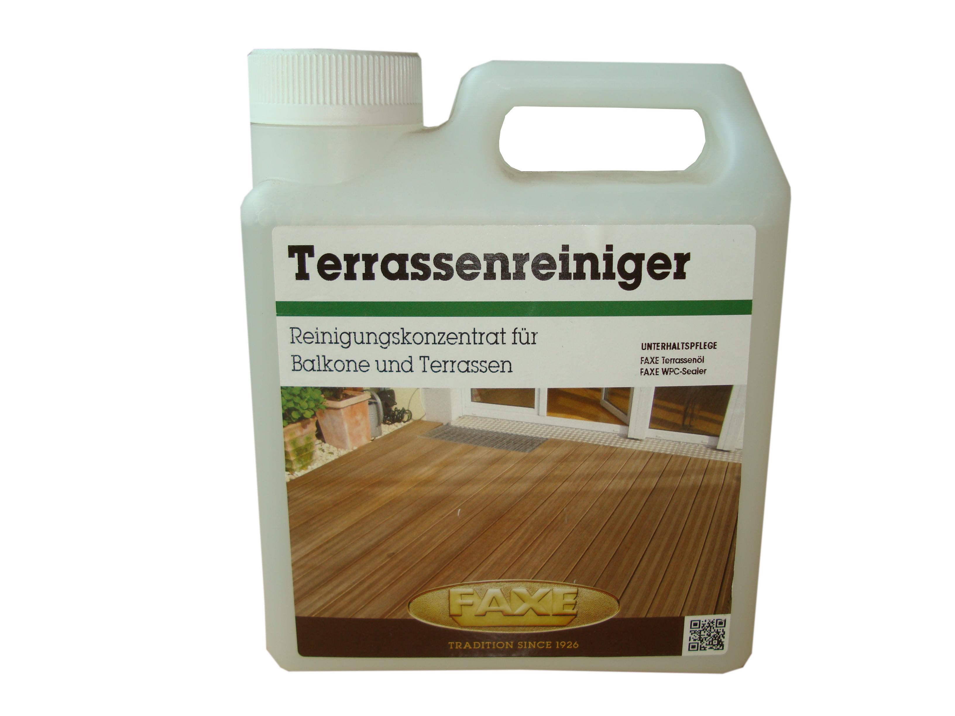 FAXE Terrassenreiniger · 1,0 ltr