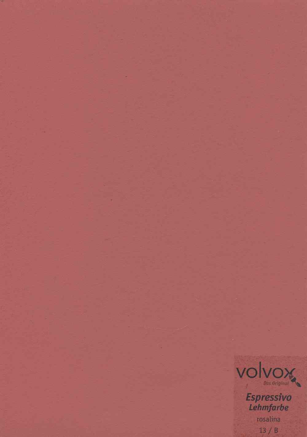 Volvox Espressivo Lehmfarbe 013 rosalina