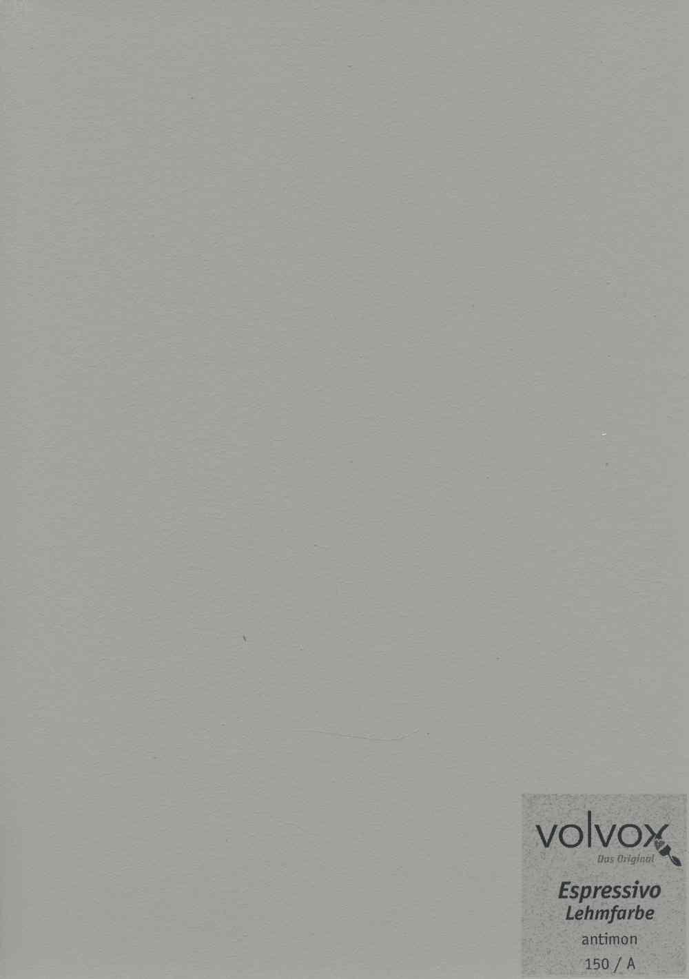 Volvox Espressivo Lehmfarbe 150 antimon