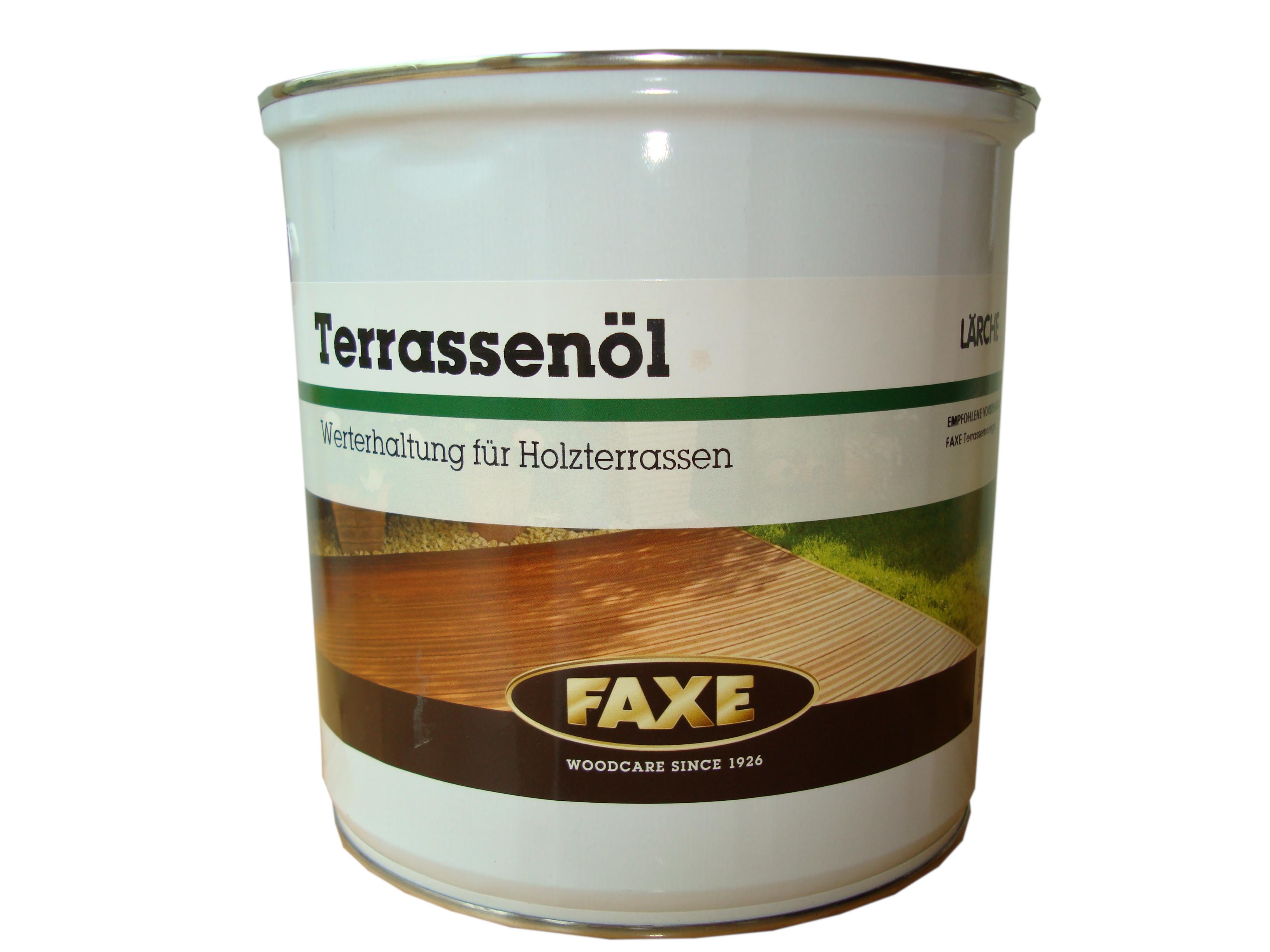 FAXE Terrassenöl · lärche · 2,5 ltr