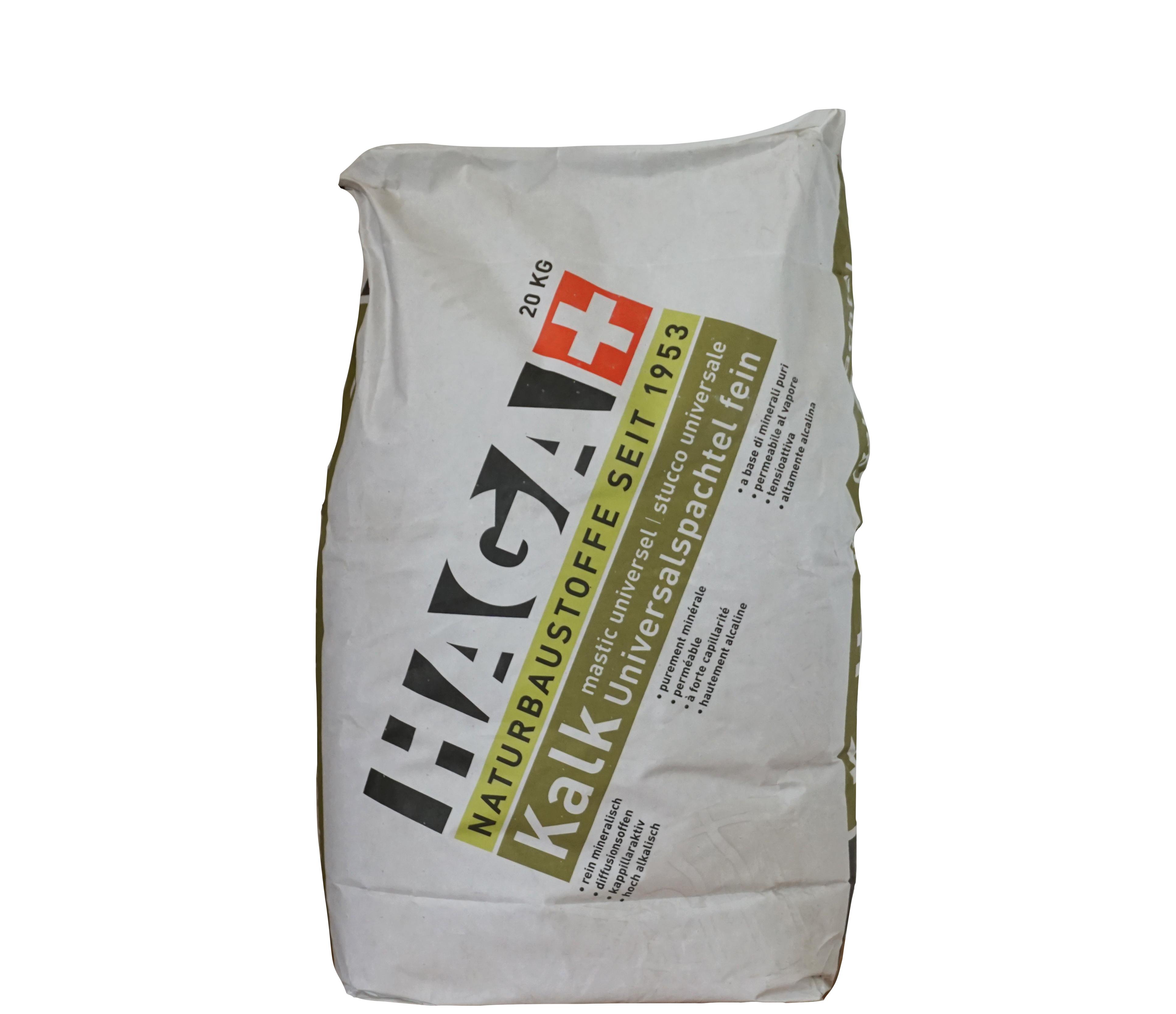 HAGA Kalk-Universalspachtel fein · 20kg