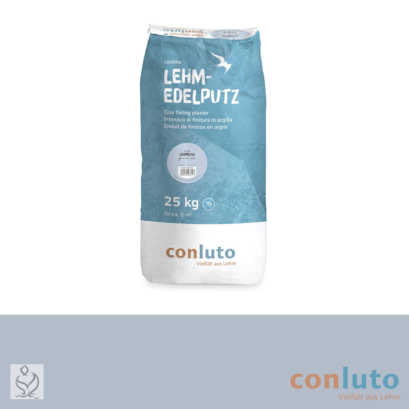 conluto Lehm Edelputz · Lehmblau · CP131