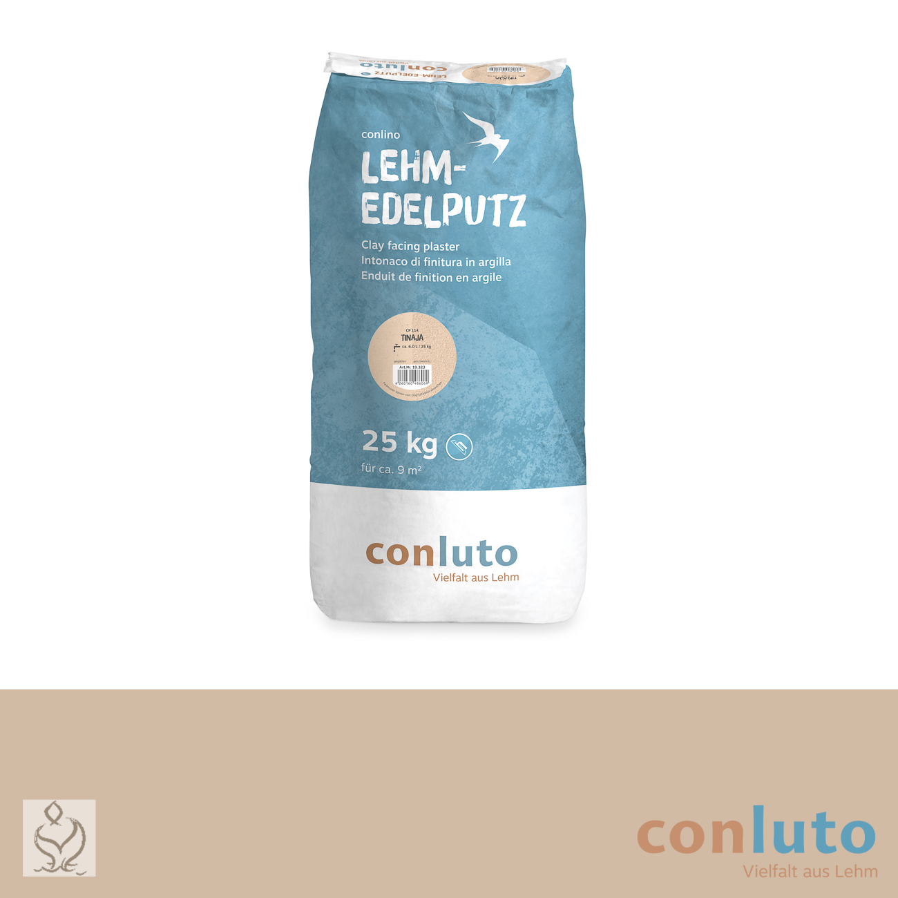 conluto Lehm Edelputz · Tinaja · CP114