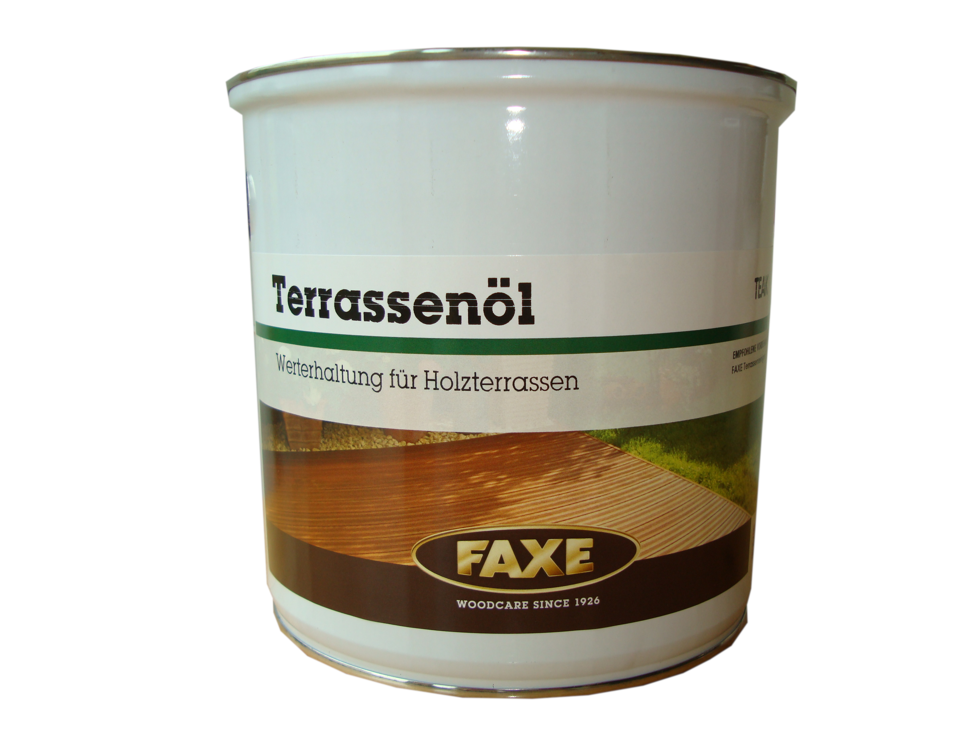 FAXE Terrassenöl · Bangkirai · 2,5 ltr