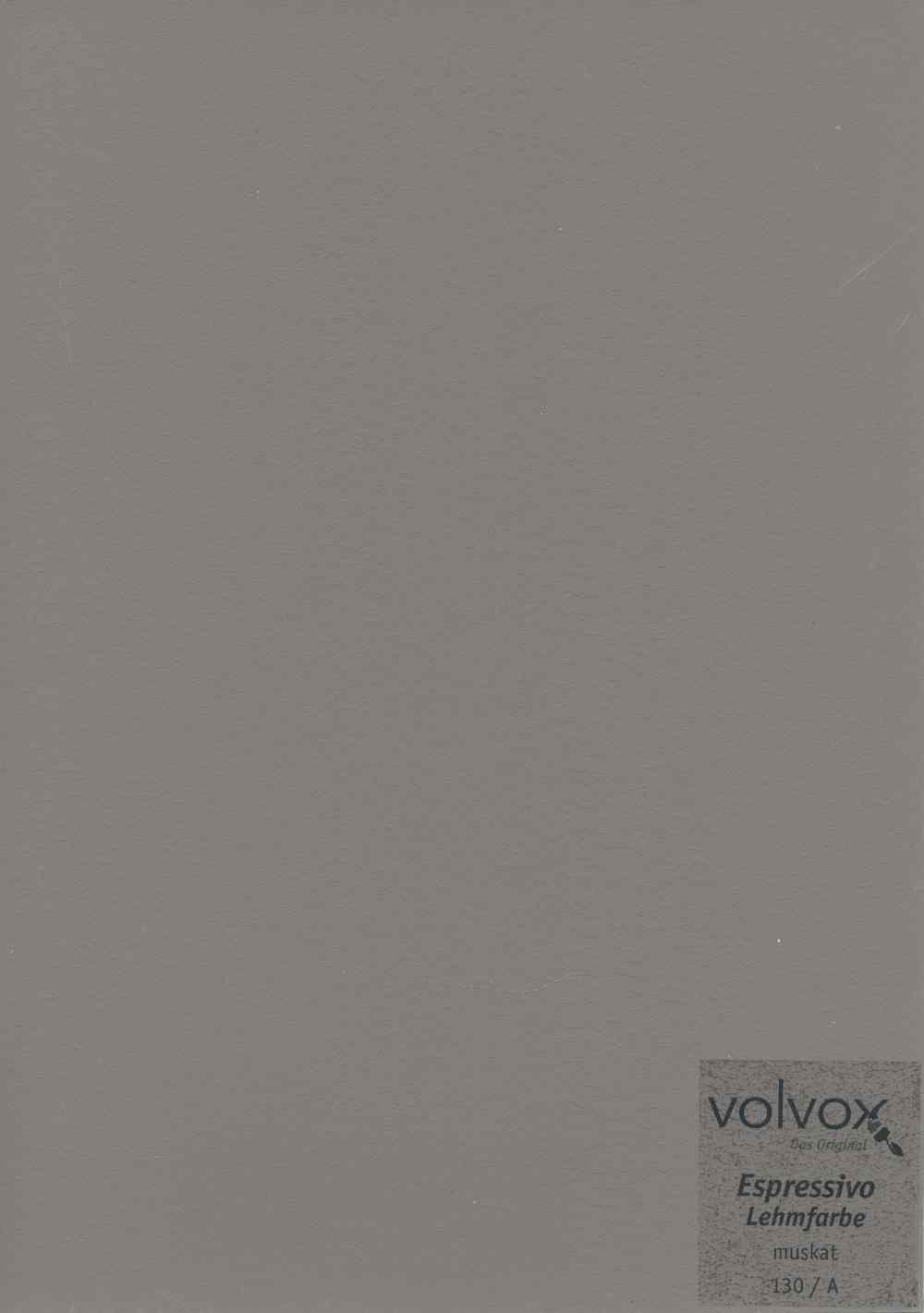 Volvox Espressivo Lehmfarbe 130 muskat