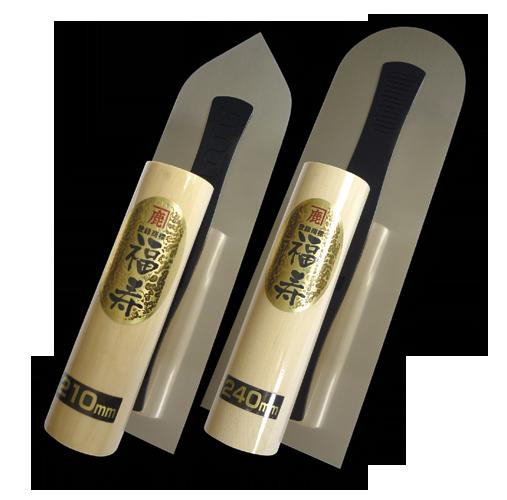 conluto Japanische Feinputzkelle · rechtwinklig · 240  x 75 x 0,4mm