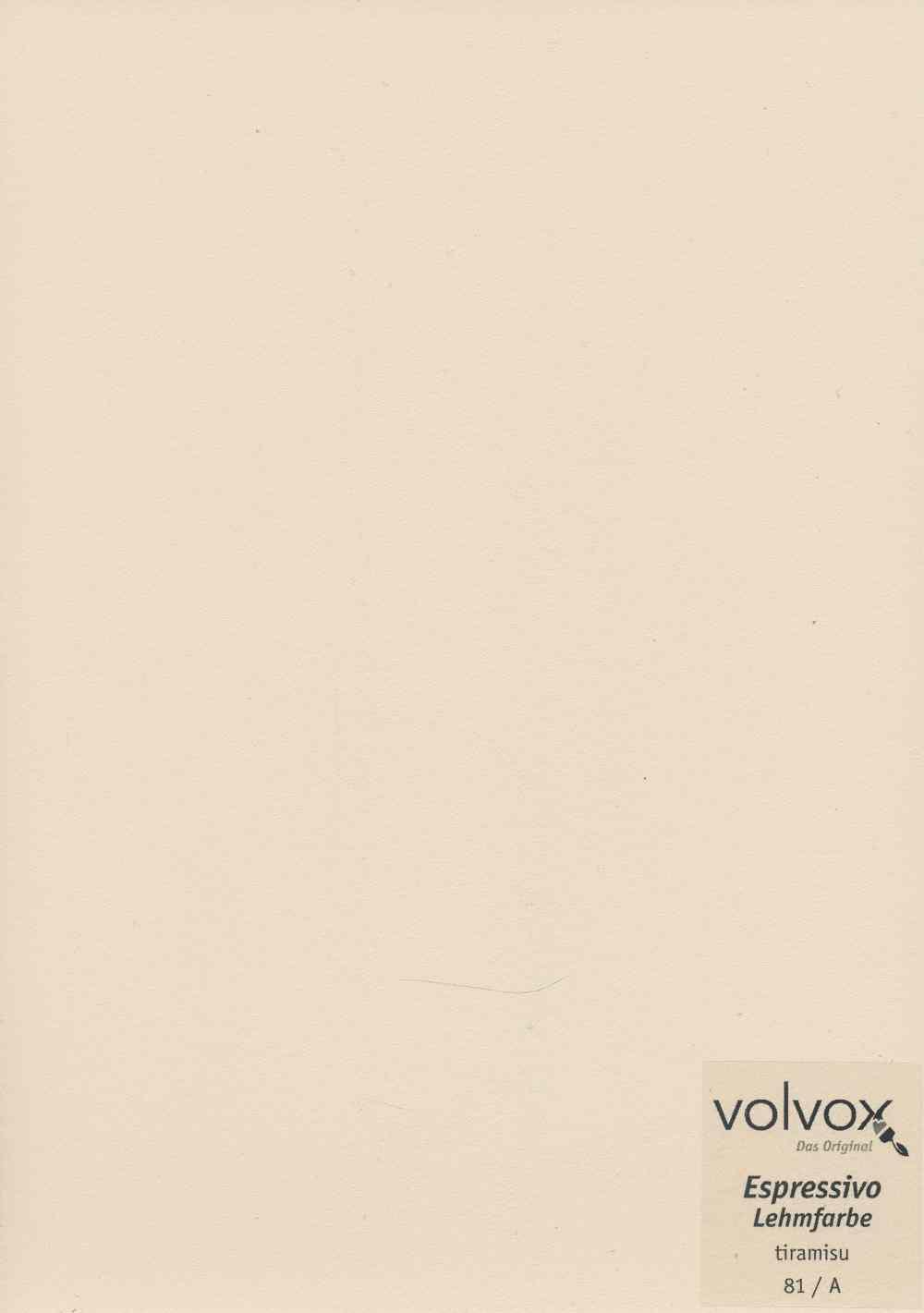 Volvox Espressivo Lehmfarbe 081 tiramisu