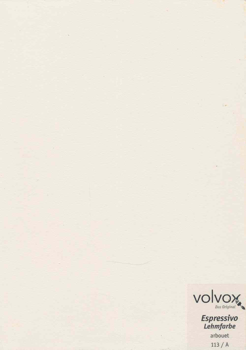 Volvox Espressivo Lehmfarbe 113 arbouet