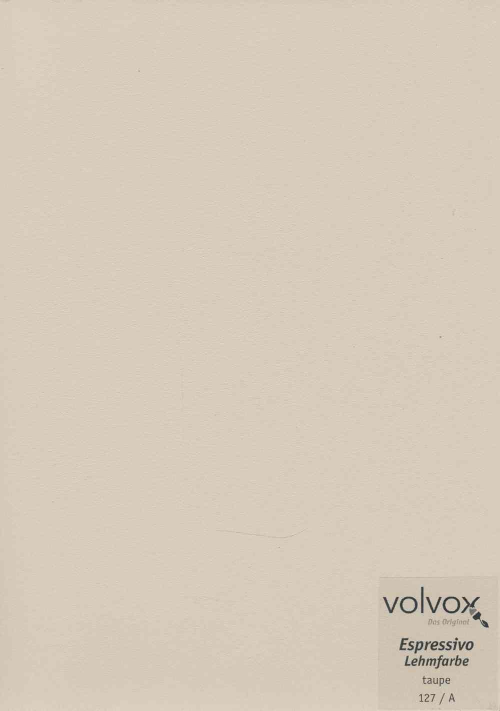 Volvox Espressivo Lehmfarbe 127 taupe