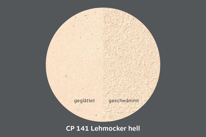 conluto Lehm Edelputz · Lehmocker hell · CP141