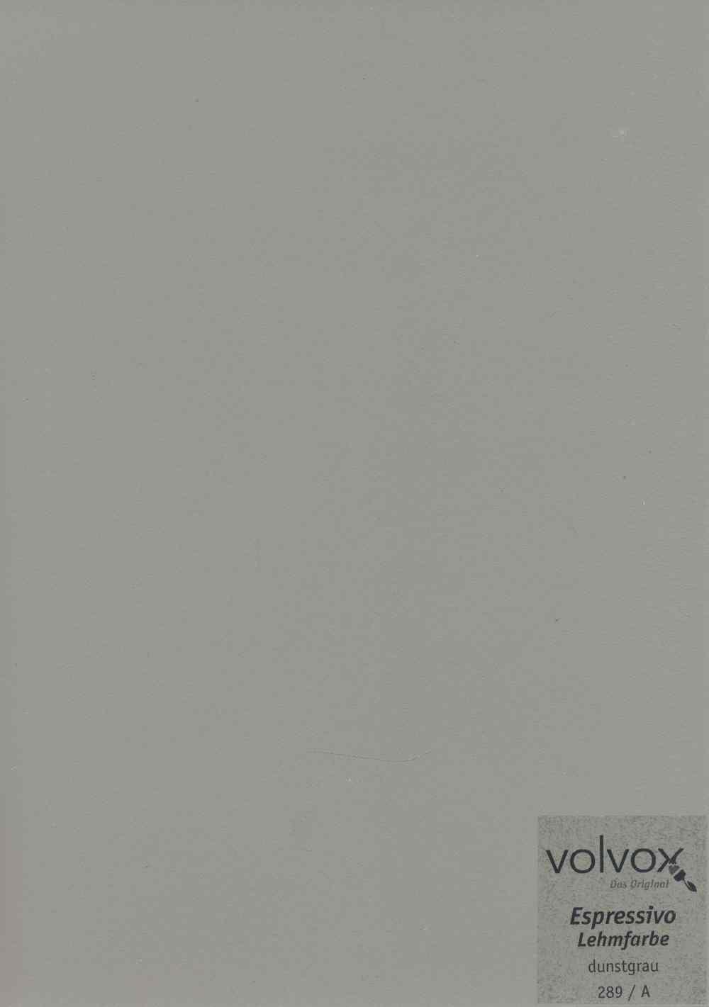Volvox Espressivo Lehmfarbe 289 dunstgrau