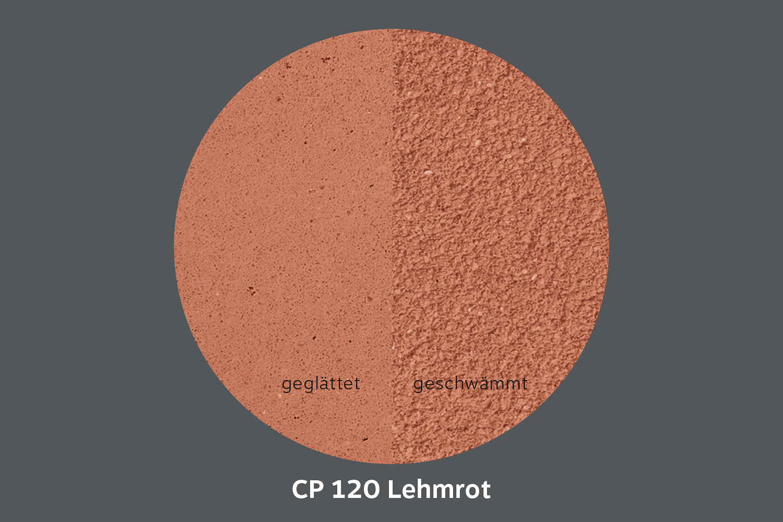 conluto Lehm Edelputz · Lehmrot · CP120